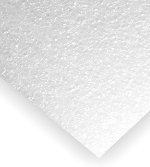 "Mousse P.E. de protection qualité ""Parfumer"" dimensions 380 mm x 280 mm"