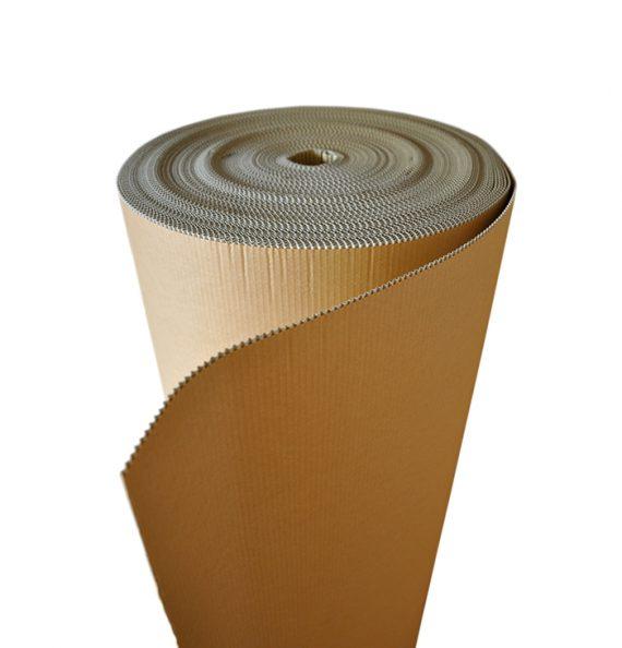Carton ondulé simple face Laize 140 cm